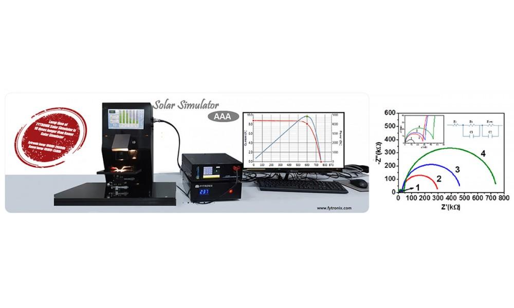SOLAR SIMULATOR-IMPEDANCE ANALYZER SYSTEM