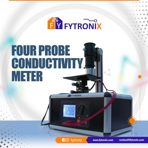 FOUR PROBE CONDUCTIVITY METER