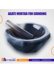 AGATE MORTAR FOR GRINGING