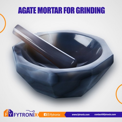 AGATE MORTAR FOR GRINDING