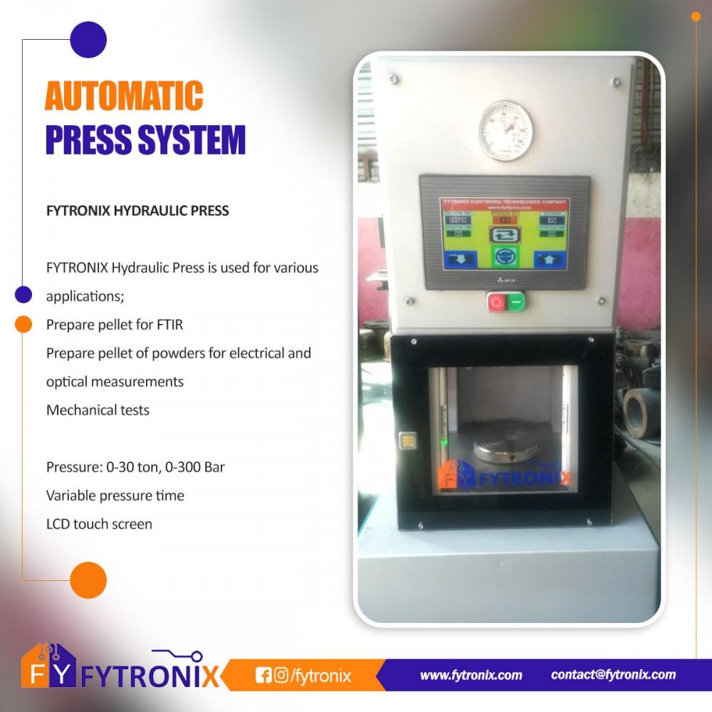 FYTRONIX AUTOMATIC PRESS  FYP8000