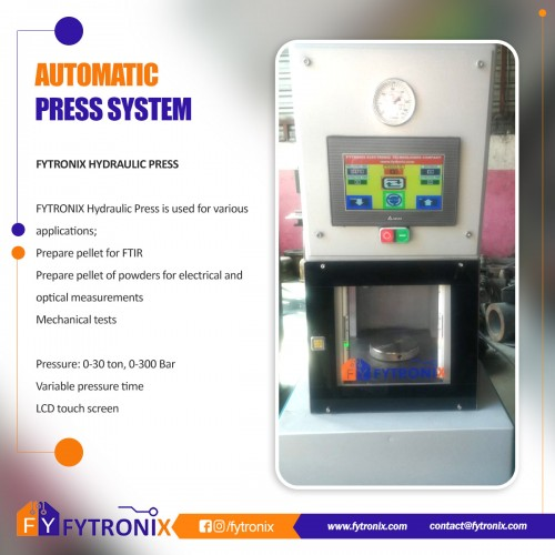 FYTRONIX AUTOMATIC PRESS  FYP8000