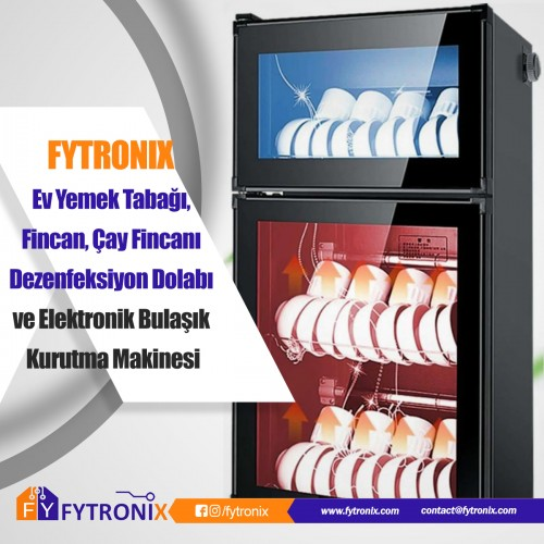Fytronix Home Dinner Plate, Cup, Teacup Disinfection Cabinet and Electronic Dish Dryer